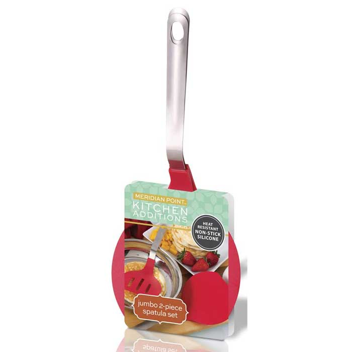 2 Piece Jumbo Spatula Set
