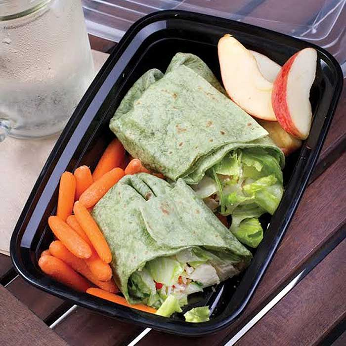 20-Piece Set: Single Compartment Lunch Containers