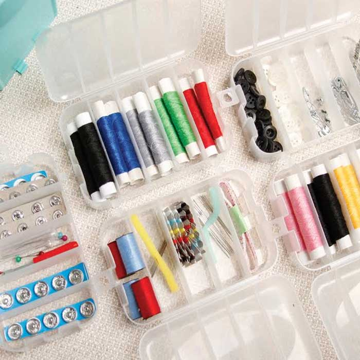 210 Piece Sewing Caddy