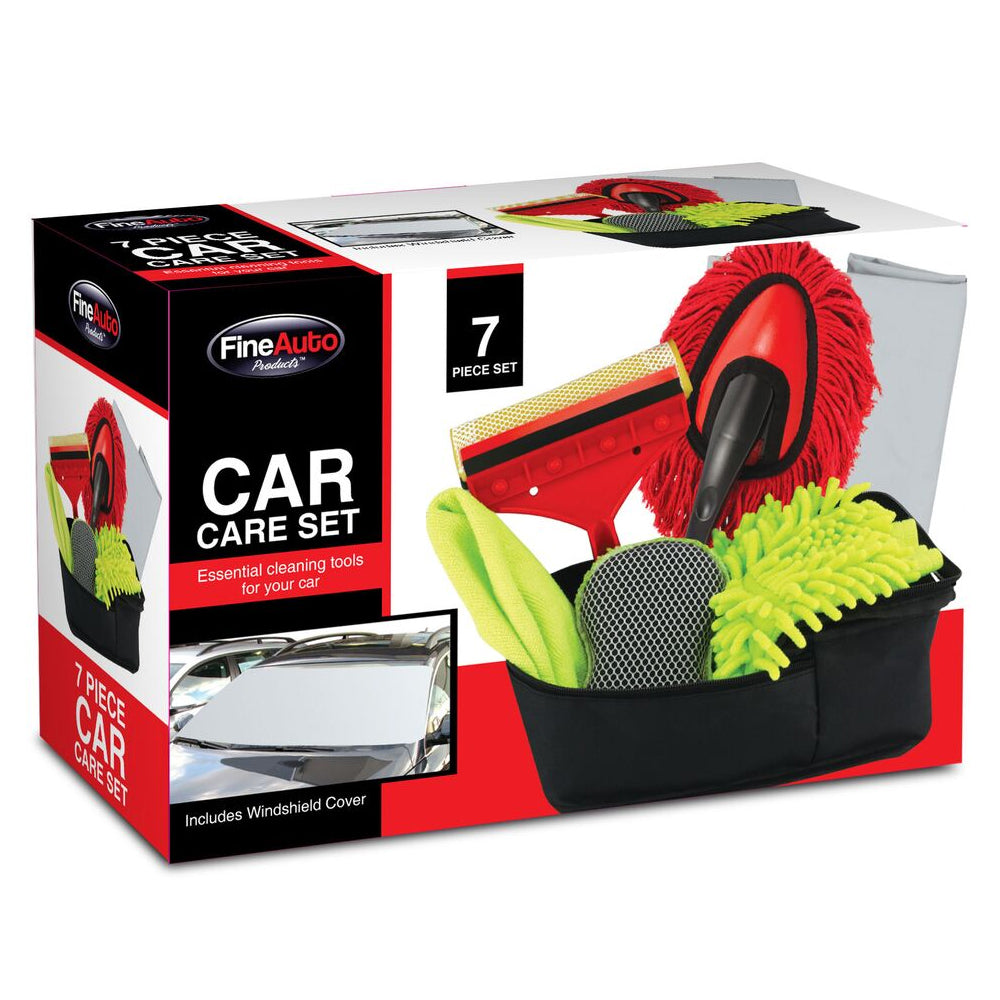 7-Piece Fine Auto Car Care Set