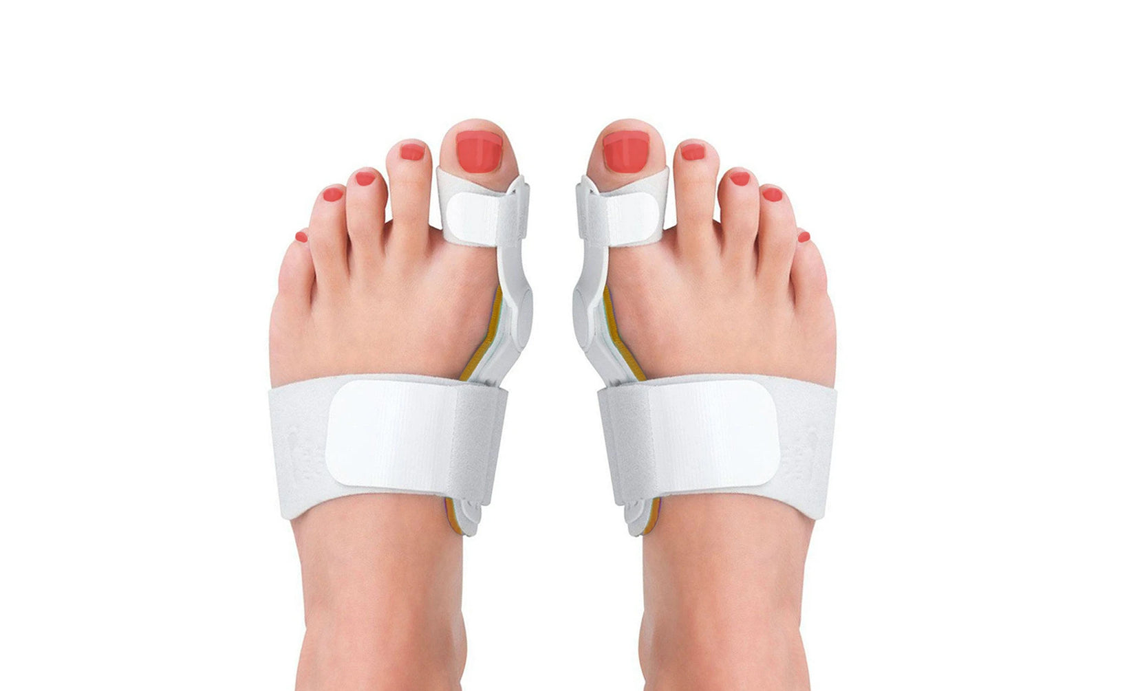 Medical-Grade Adjustable Bunion Toe Splint with Hinge