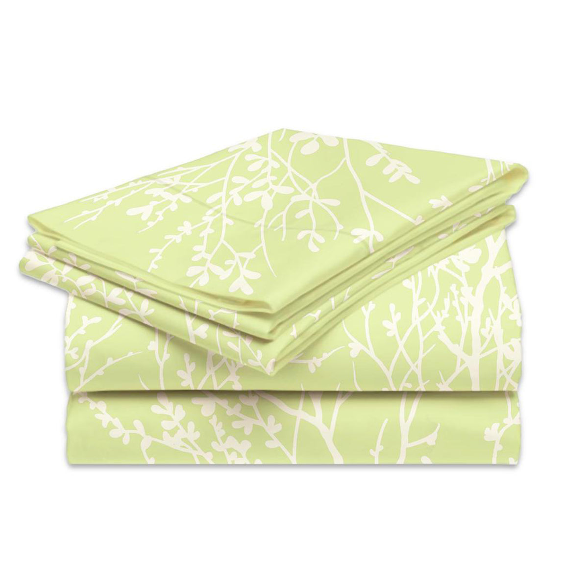 4-Piece Set: Super-Soft 1600 Series Foliage Sheets