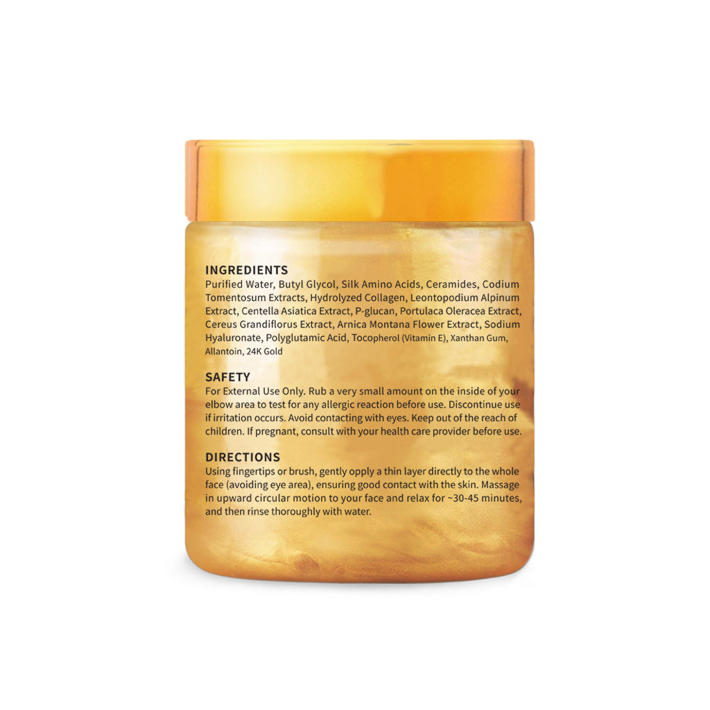 24K Gold Anti-Aging and Anti-Acne Facial Mask