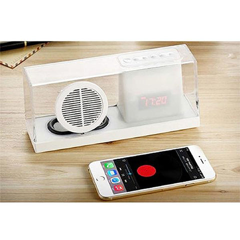 Bluetooth Speaker in Acrylic Box