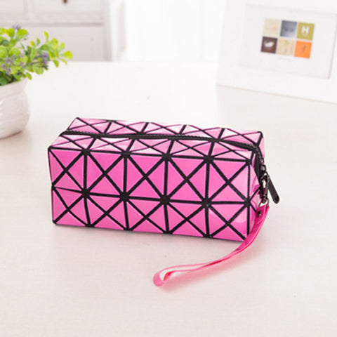 Diamond Design Cosmetic Travel Bag