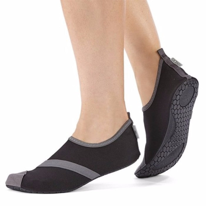 FitKicks Women's Slip On Fold and Go Shoes - 4 Colors