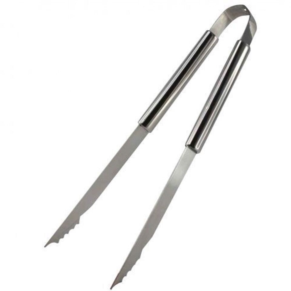 Stainless Steel BBQ Grilling Tongs