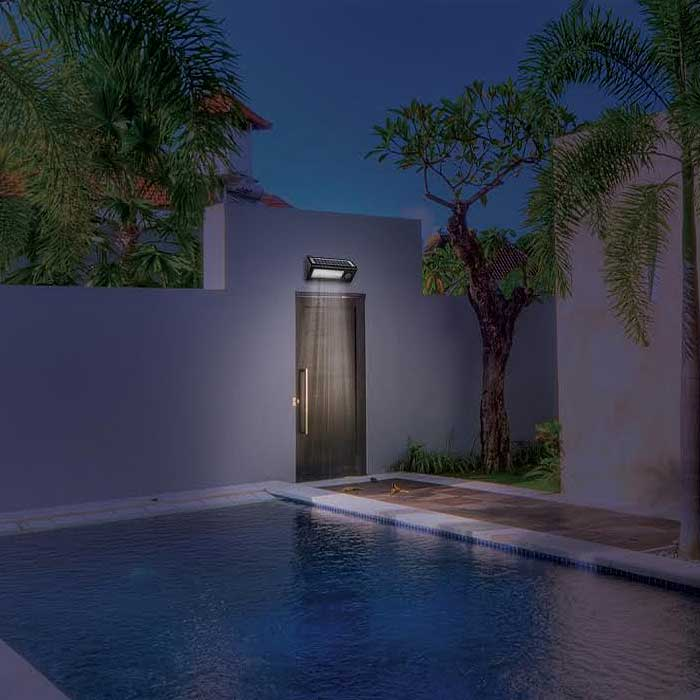 36 LED Outdoor Motion-Sensor Solar Light