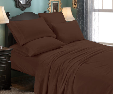 6 Piece Set: Super-Soft 1800 Series Bamboo Fiber Bed Sheets