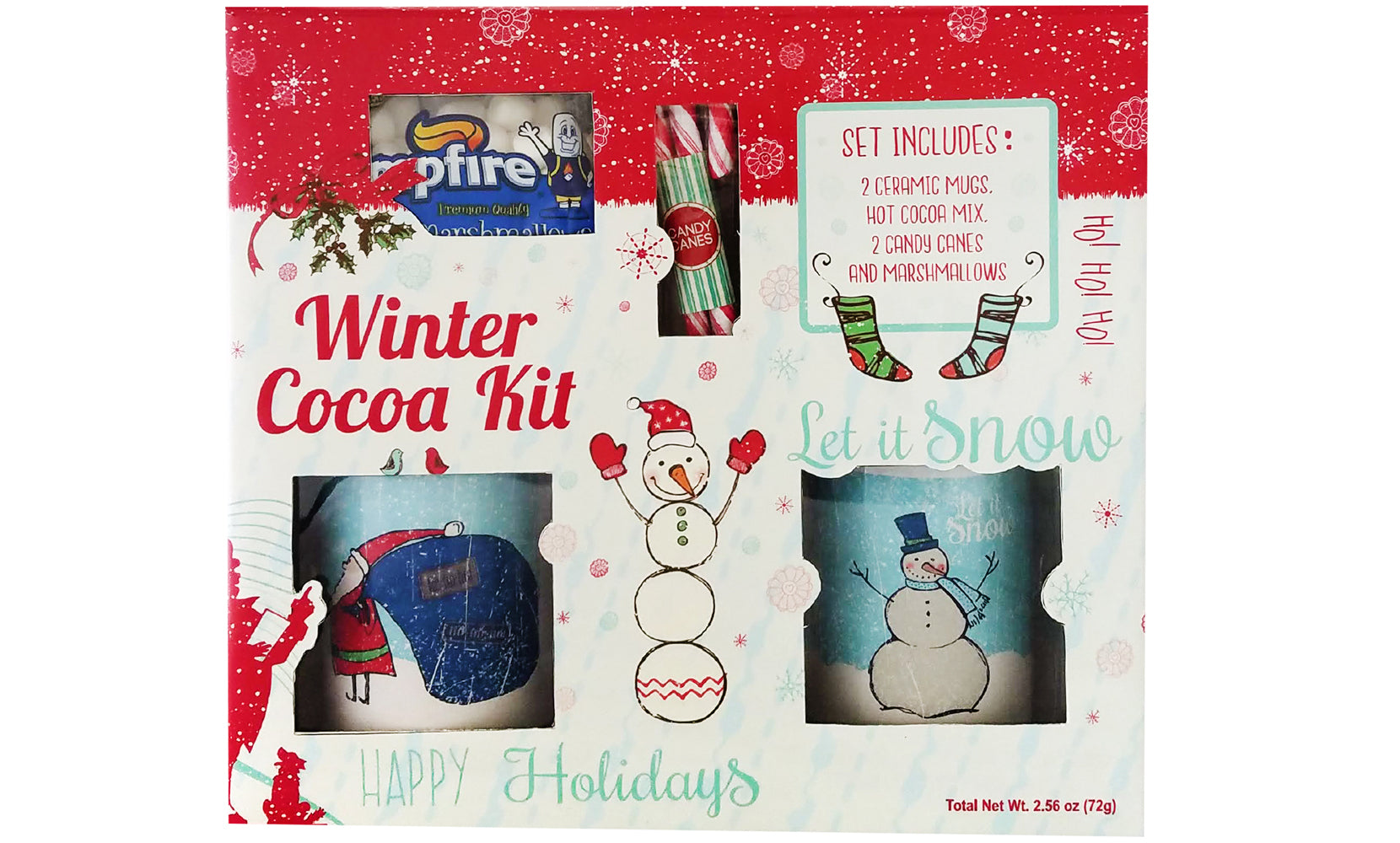 6-Pack: Winter Cocoa Deluxe  Kit
