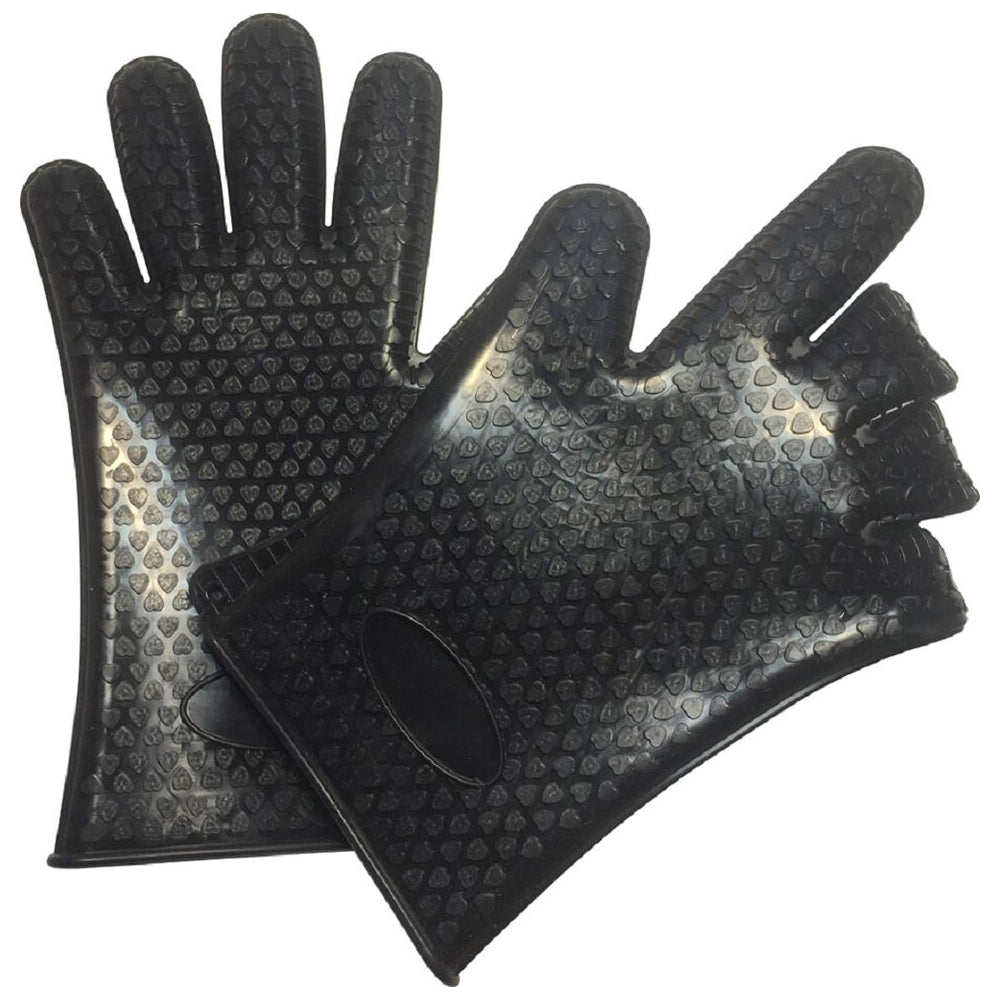 2-Pairs : Heavy Duty Silicone Gloves