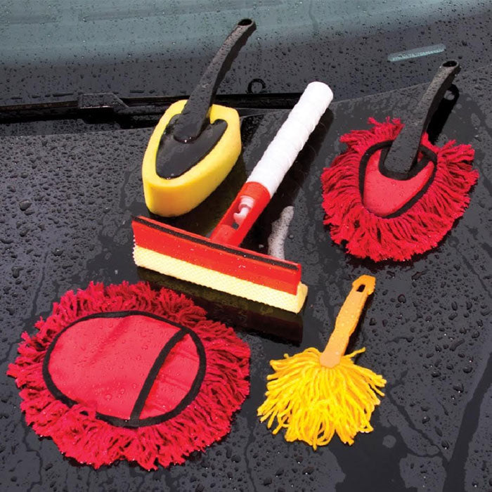 5 Piece: Car Cleaning Kit