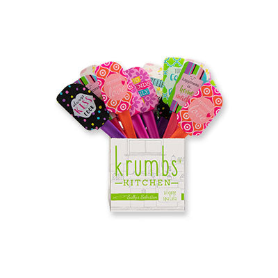 Krumbs Kitchen® Designer Collection Silicone Spatulas
