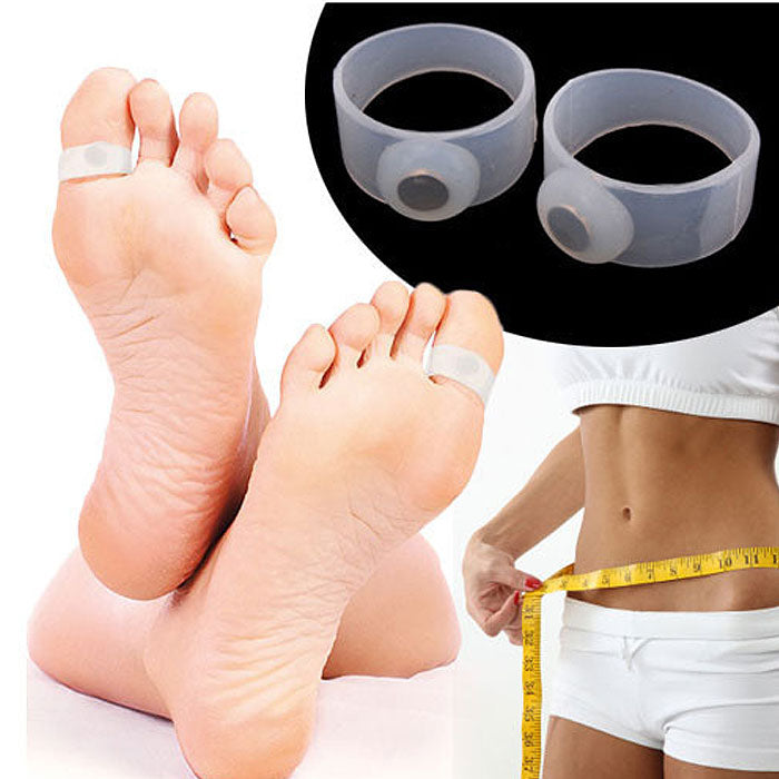 Japanese Magnetic Slimming Toe Rings