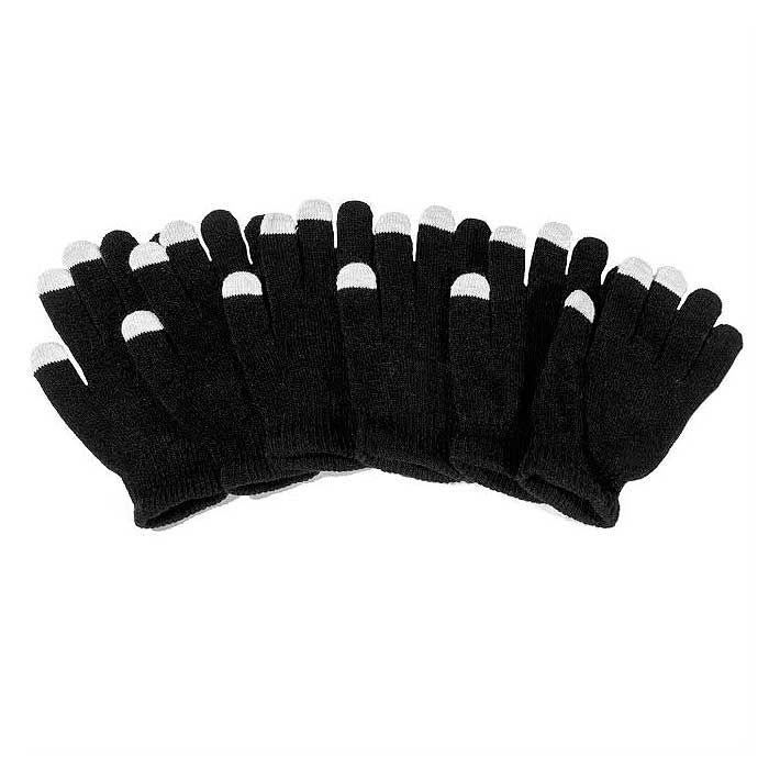 6 Pairs : Unisex Touchscreen Ultra-Soft & Comfy Gloves