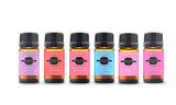 Premium Fragrance Aromatherapy Essential Oil Gift Set (6-Pack)