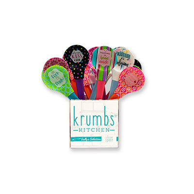 Krumbs Kitchen® Designer Collection Silicone Spoons