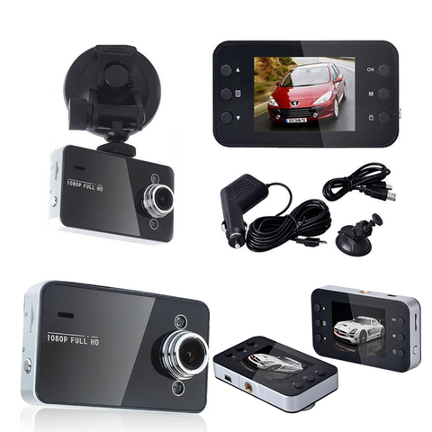 "2.7"" 1080p HD Car DVR with G-Sensor Night Vision"