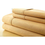 4-Piece Set: Super-Soft 1600 Series Grass Embossed Bed Sheet