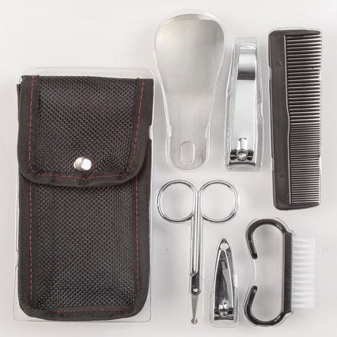 7 Piece Mens Grooming Set