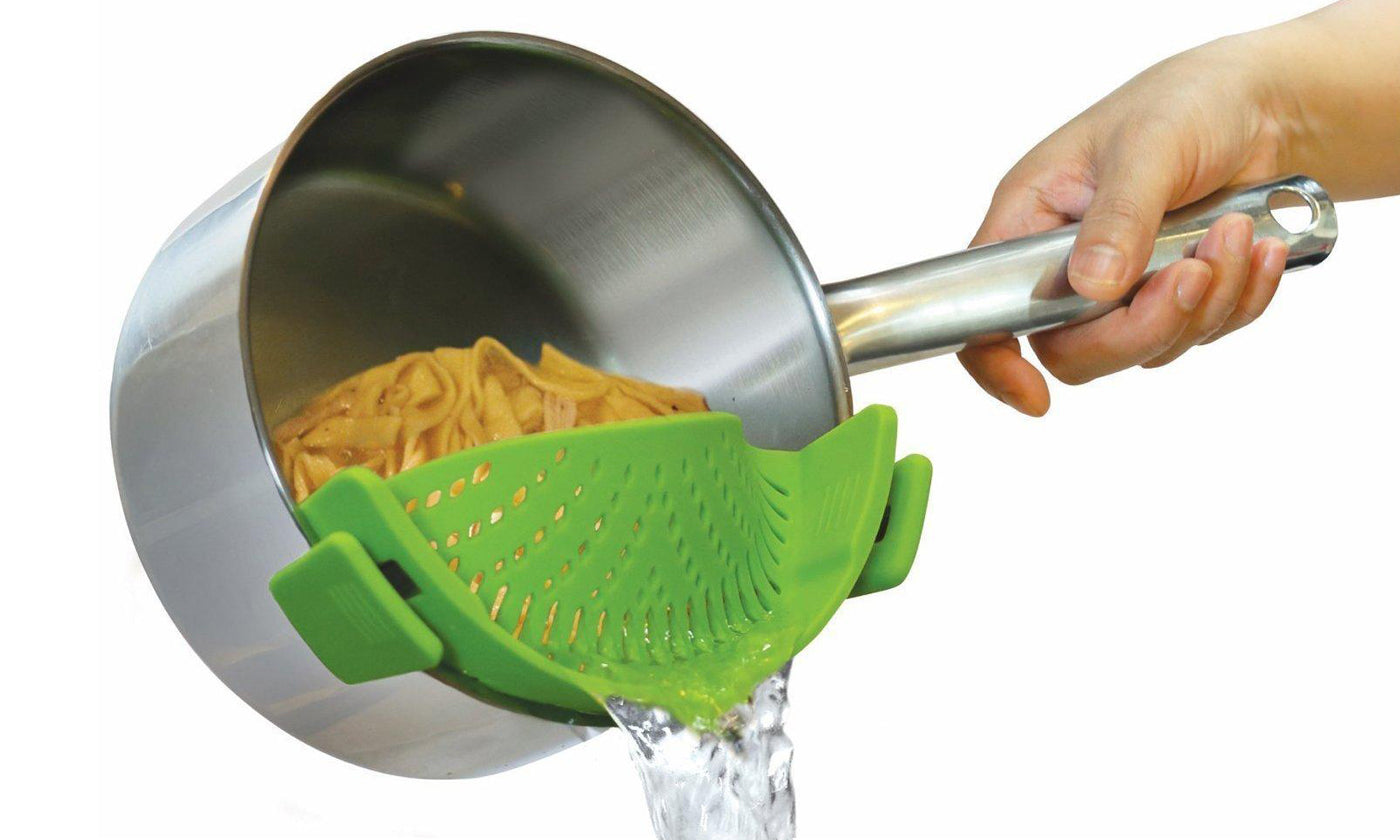 shopify-Snap'N Strain Kitchen Strainer-2