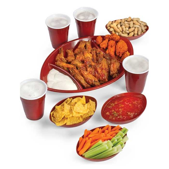 9 Piece Picnic Snack Set