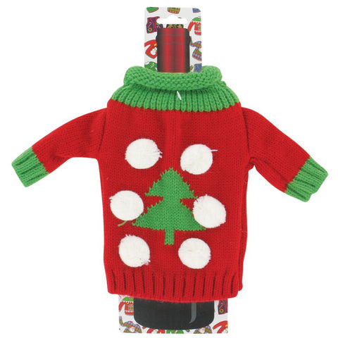 Uncle Bob's Ugly WINE Bottle Sweater