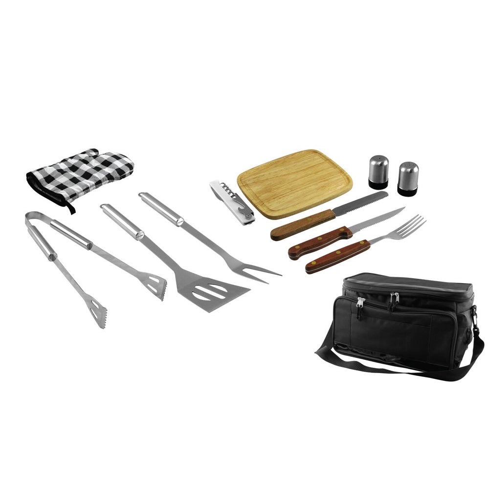 12-Piece Grill Set and Cooler Bag