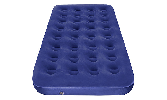 Luxury Comfort Flocked Air Bed with Air Pump