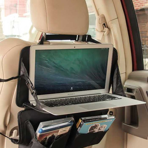 Back Seat Car Organizer with Laptop Desk