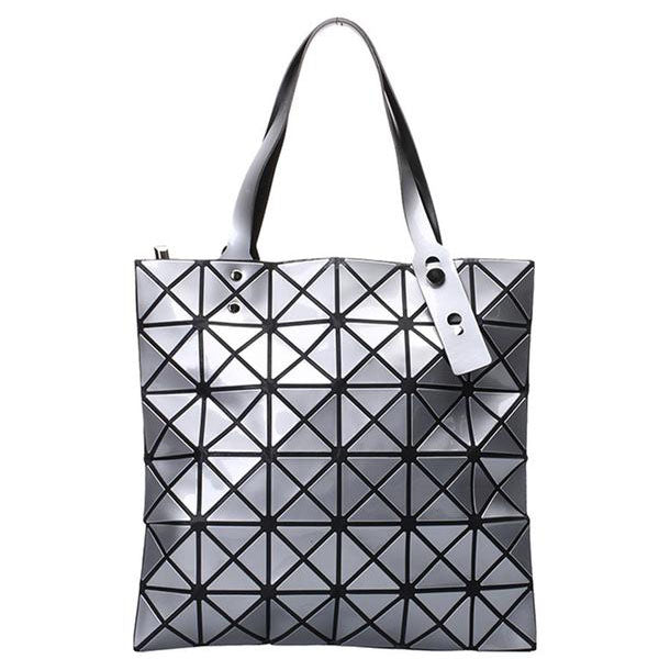 Geometric Day-Shift Tote