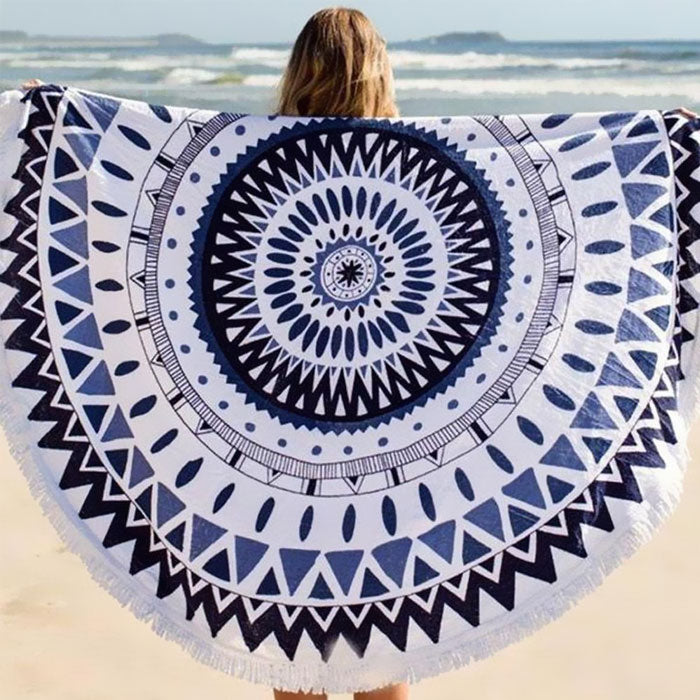 Abstract-Design Beach Throw