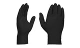Disposable Black Extra Thick Nitrile Gloves (100-Pack)