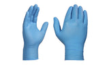 Disposable  Extra Thick Blue Nitrile Gloves (100-Pack)