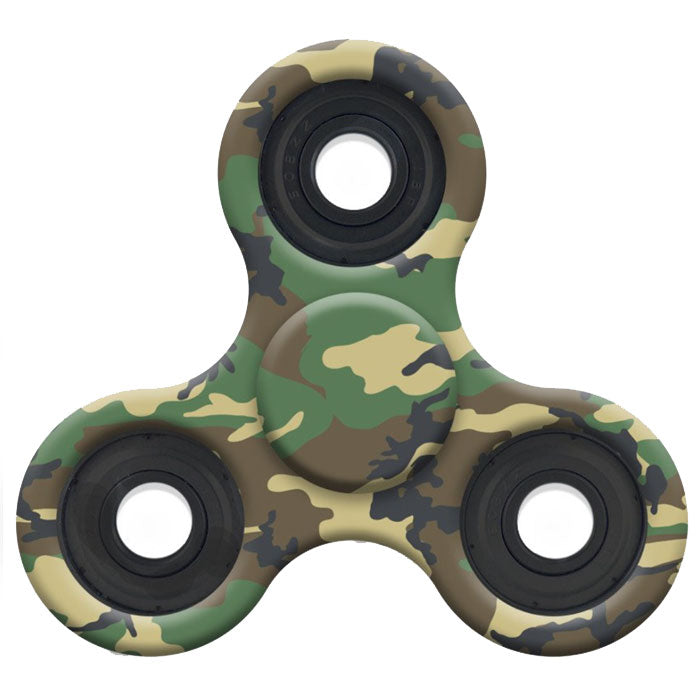 3-Pack: Camo / Tie-Dye Fidget Spinners (Assorted Colors)