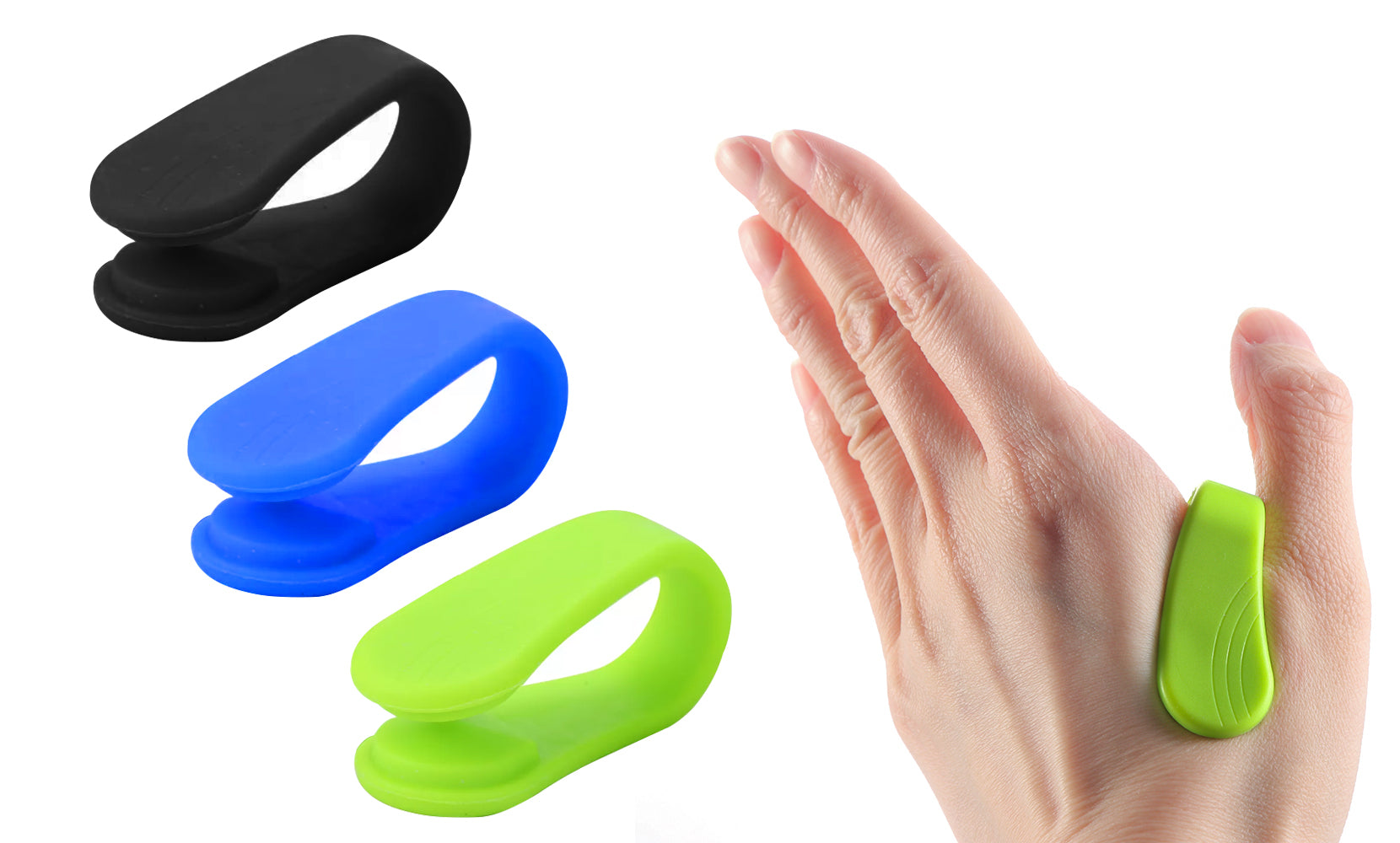 2-Pack: Headache, Migraine, Tension Relief Wearable Supporting Acupressure Clip