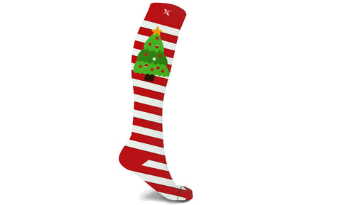 Holiday Fun Knee High Compression Socks (1-Pair)
