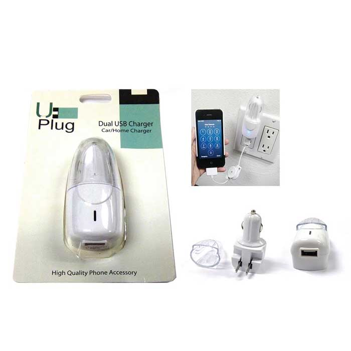 Car & Home Dual USB Charger