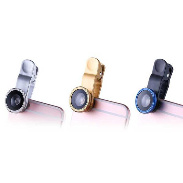 Universal Clip-On 3-in-1 Camera Lens