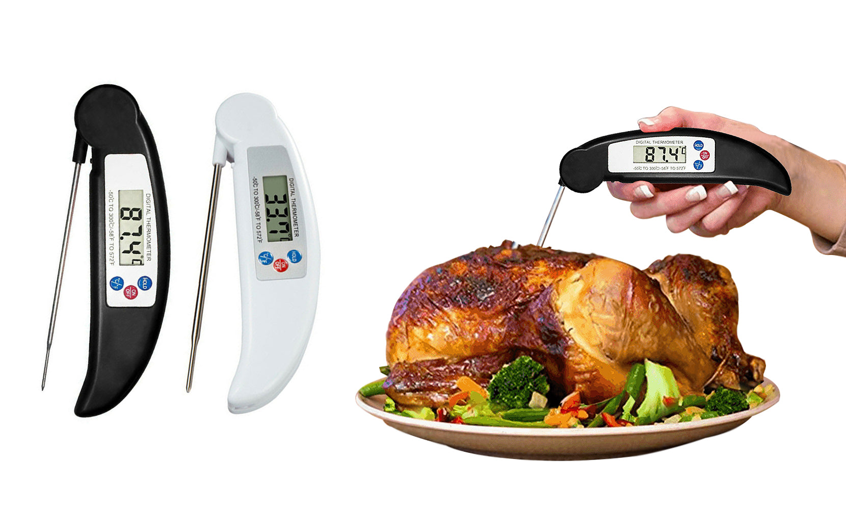 shopify-ProThermo Instant-Read Digital Meat Thermometer-1