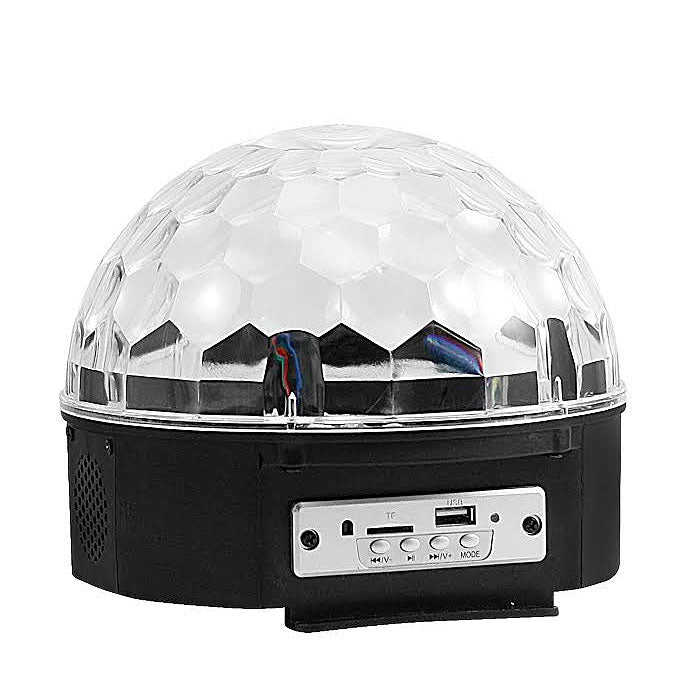 Disco Ball Bluetooth Speaker with Color LED Lights