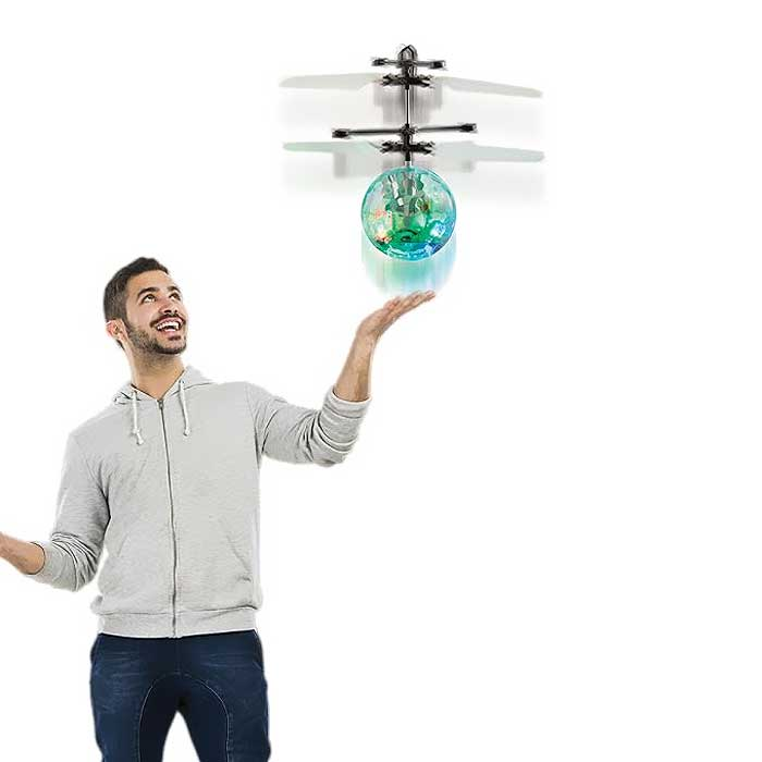 Disco Orb Hovering Helicopter