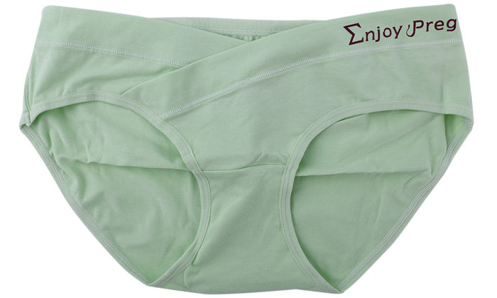 Women's Low-Waist Cotton Maternity Panties (5-Pack)