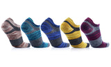 5-Pairs Unisex Ankle-Length Performance Socks