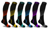 Ultra-Performance Athletic Compression Socks (6-Pairs)