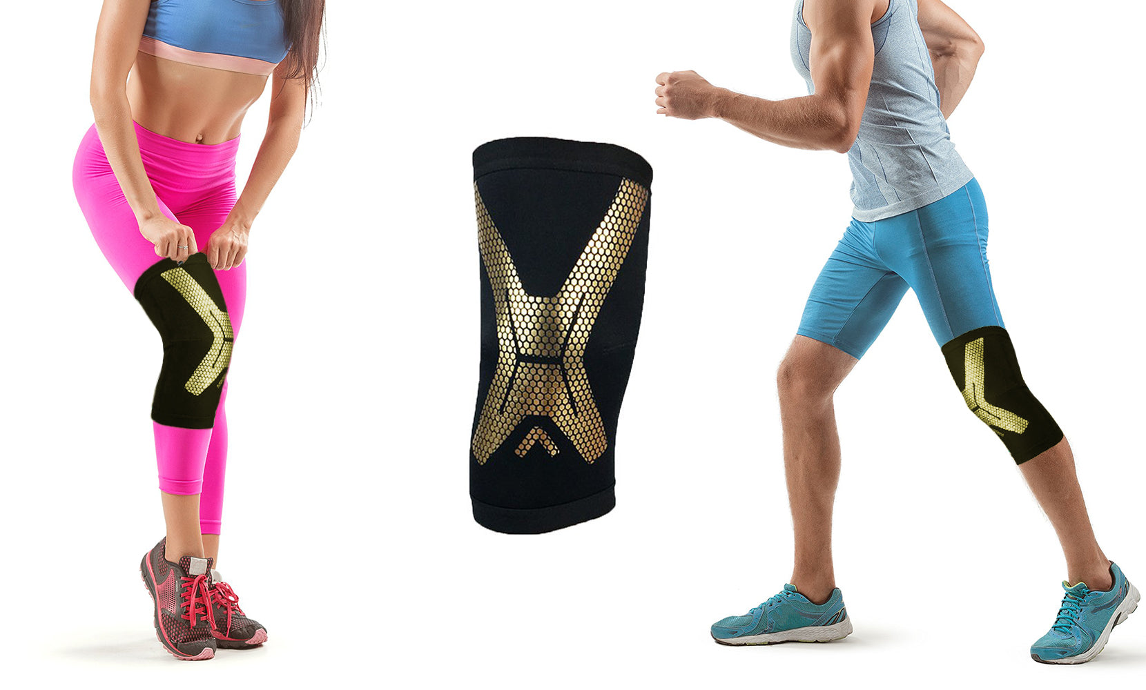 Dynamic Knee Support  Sleeve