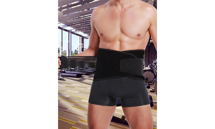 Unisex Double-Compression Waist Slimming Belt