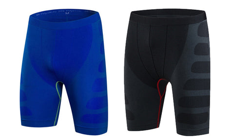 Men's Moisture-Wicking Compression Shorts
