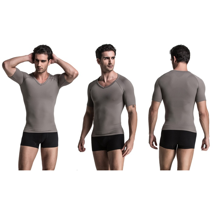 Men's Compression Short-Sleeve Shirt