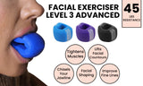 Ball Faced Jaw, Face and Neck Excercizer and Jawline Shaper Enhancer